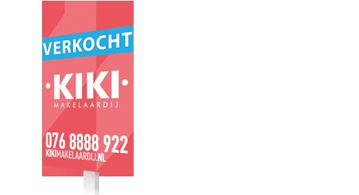 KIKI Makelaardij Bord Huis te koop verkocht